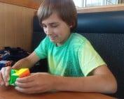 Lubit-8 and Rubik's cube