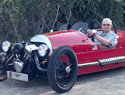 Using Tufoil Engine Treatment in a Morgan 3-Wheeler