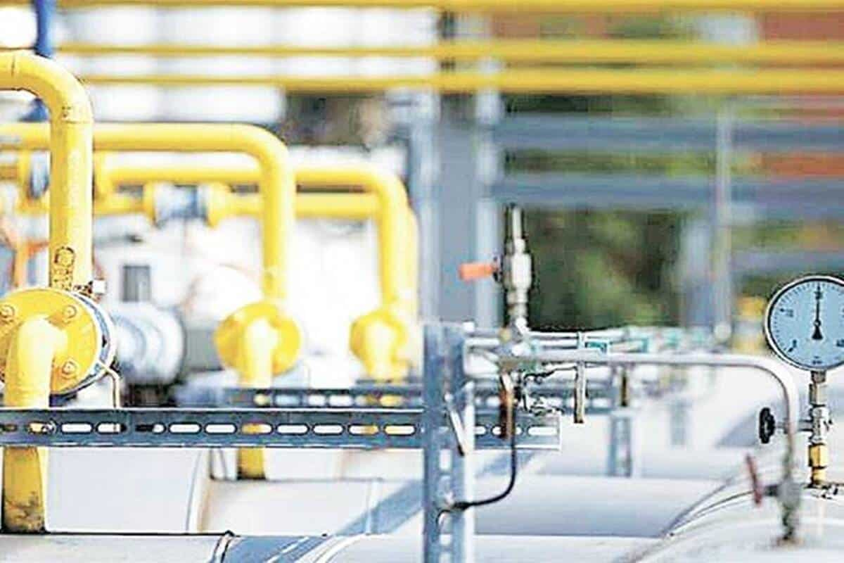 LNG piping system